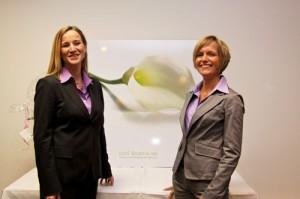 Chefärztin Cordula Chronz und Dr. Stephanie Korte