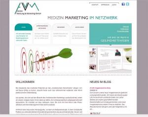 Neue AVVM-Homepage