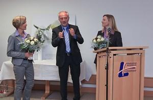 Dr. Korte, GF Ubbo de Boer (EVK Lüdo), CÄ C.Chronz