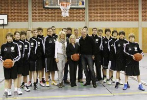 Juniorbaskets mit Sponsoren