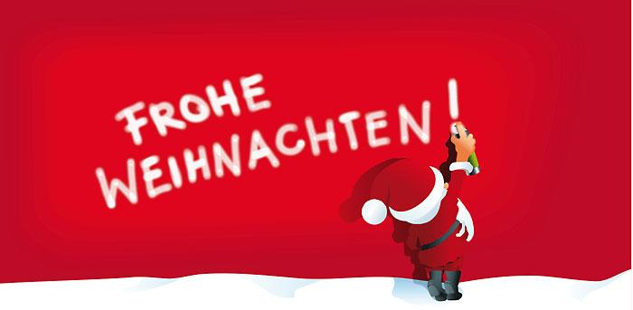 Frohe Weihnachten und gutes neues Jahr 2012
