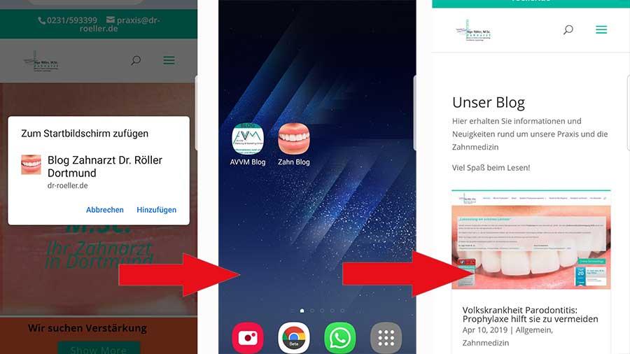 Progressive Webapp – die Zukunft der App ist die Website